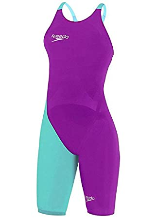 30e624913bd Speedo LZR Racer Elite 2 Closedback KneeSkin Diva / Bali Blue 25L:  Amazon.co.uk: Sports & Outdoors