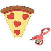 Luv Betsey Johnson Pizza Portable Rechargeable Power Bank, Multi