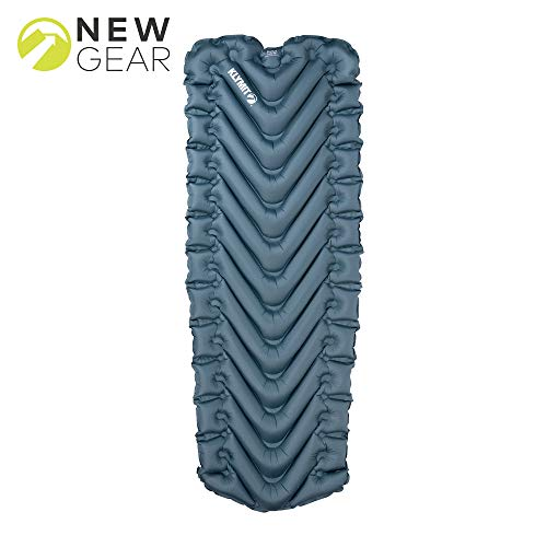 Klymit Static V Luxe Sleeping Pad, Extra Wide (up to 30 inches), Maximum Comfort for Car Camping, Travel, and Backpacking (Insulated and Non-Insulated)