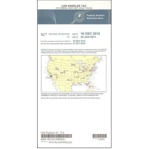FAA Chart: VFR TAC LOS ANGELES TLA (Current - Chart Area Terminal