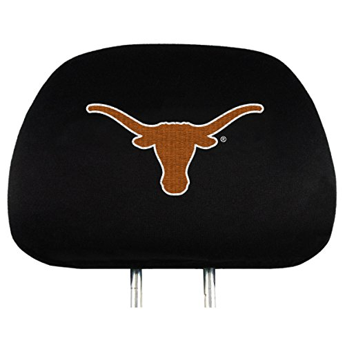 NCAA Texas Longhorns Head Rest Covers, 2-Pack