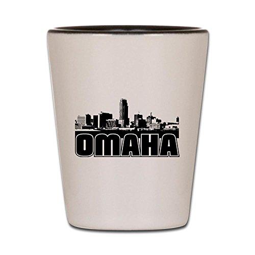 CafePress - Omaha Skyline - Shot Glass, Unique and Funny Shot Glass]()