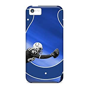 Diy iphone 5 5s case Cute Appearance Cover/tpu Indianapolis Colts Case For iPhone 5 5S