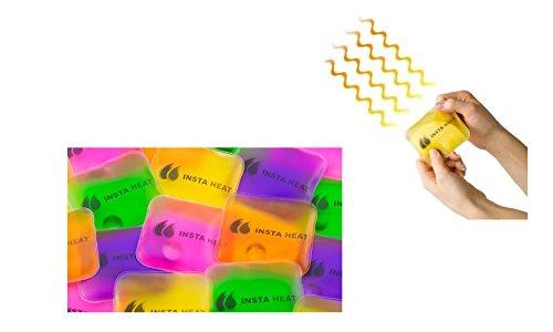 5-Pack Insta Heat Reusable Hand Warmers