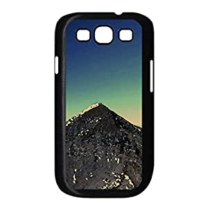 Mountain Peak Watercolor style Cover Samsung Galaxy S3 I9300 Case (Mountains Watercolor style Cover Samsung Galaxy S3 I9300 Case)