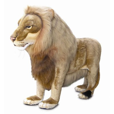 large lion stuffed animal