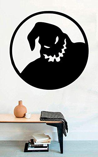 Oogie Boogie Halloween Vinyl Wall Decals Ghost Boo