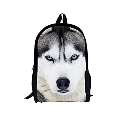 Dellukee Girl School Book Bag Large Fashion Student Back To School Daypack Backpack Husky 85%OFF