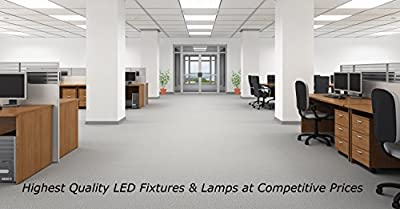ELB Electronics LEDT8-17-835-B-FHF 4-Pack Plug and Play LED T8, 4', 17W, 3500K (Warm White), T8, T12 Ballast Compatible, Frosted Lens, ETL and DLC Qualified, Rotatable Ends, White (Pack of 4)