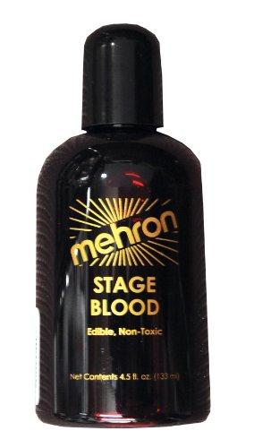 Mehron Blood 152 (4.5Oz, Bright Arterial) by mehron