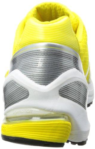 adidas Adizero F50 Runner 3 - Zapatillas de correr de material sintético hombre amarillo - Gelb (Vivid Yellow S13 / Black 1 / Neo Iron Met. F11)