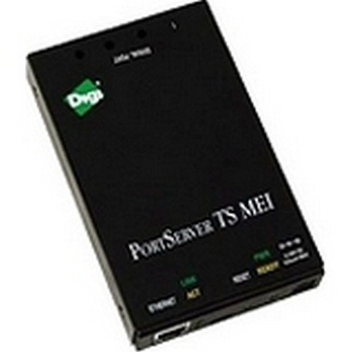 Digi 70001806 PortServer TS MEI RJ-45 - Device server - 2 ports - 10Mb LAN, 100Mb LAN, RS-232, PPP, RS-422, RS-485 by DIGI INTERNATIONAL