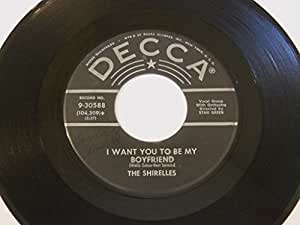 """I Met Him On A Sunday (Ronde-Ronde) / I Want You To Be My Boyfriend 7"""" 45 - Decca - 9-30588"""