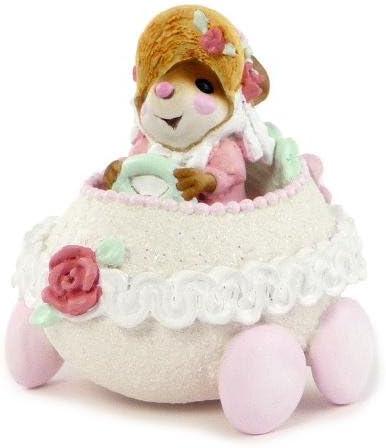 Wee Forest Folk M-274a Easter Eggmobile Pink