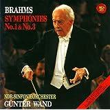 ブラームス:交響曲第1番&第3番