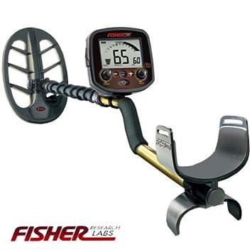 Space-Shop - Fisher Metal Detector Metal Detector Fisher F19 F 19 placa elíptica
