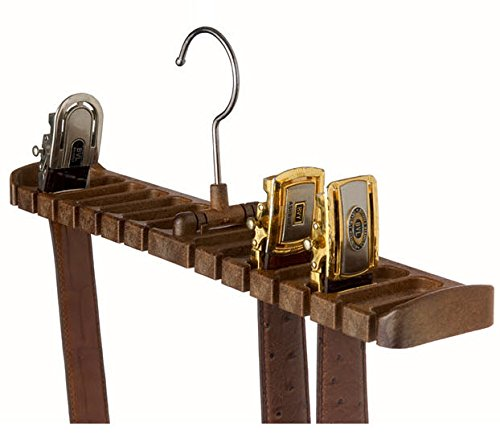 Tenby Living Belt Rack, Organizer, Hanger, Holder - Stylish Belt Rack, Sturdy. ()