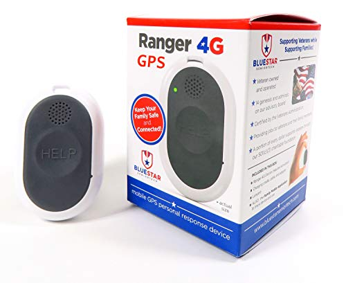Ranger Advanced 4G LTE Mobile Medical Alert Device by BlueStar SeniorTech | Safety for Seniors | Includes 1-Month Service