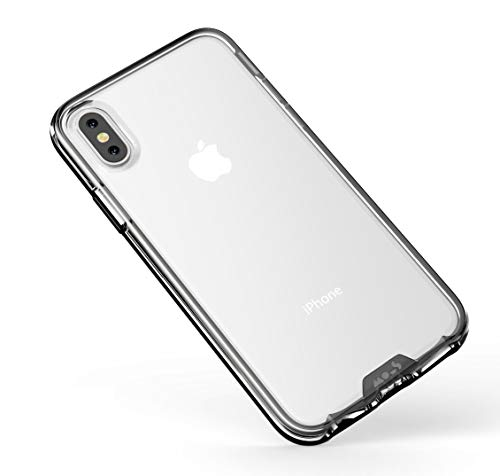 Mous iPhone X/XS Clear Case, Anti Yellow and Anti Scratch Clarity Cover - No SP - Case Incl
