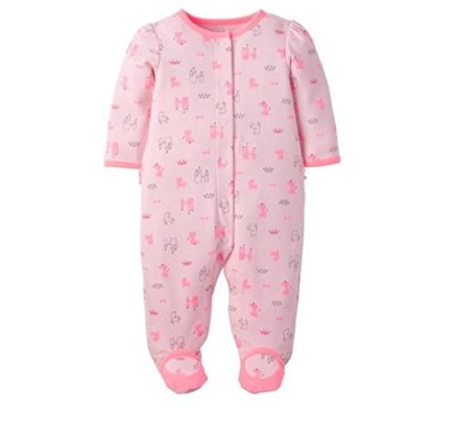 Carters-Preemie-Sleeper-Baby-Girl-Footed-Sleep-N-Play-Snap-Zipper-Style