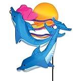 Premier Kites 59115 Garden Charm, Sunset Dolphins, 30-Inch