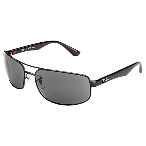 Ray Ban RB3445 006/P2 64 Matte Black/Gray Polarized Sunglasses Bundle-2 - Polarized Rb3445