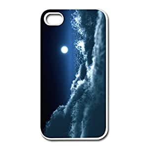 Moon Over Clouds IPhone 4 4s Case Shell - Custom Cute Cover For IPhone 4s