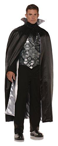 Underwraps Men's Vampire Costume - Skull Vest Set