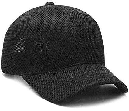887693654a20f Dryon Men s Net Baseball Cap (Black)  Amazon.in  Clothing   Accessories