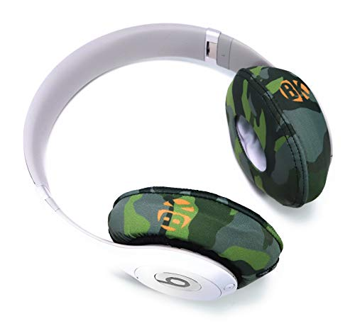 Beat Kicks Protective Headphone Covers (Regular, Forest Green Camo)
