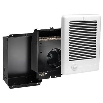 """Cadet 67505 Com-Pak Plus Fan Heater 1000 Watts, 240 Volts, White, 5.75"""" x 14.375"""" x 9.5"""""""