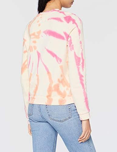 Hurley Sudadera Pullover Sweater, Multi-Color/Black, M Womens