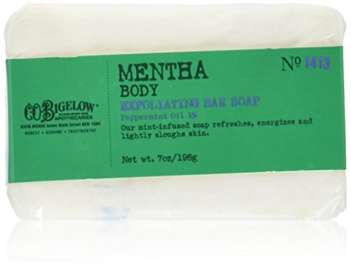 C.O. Bigelow Mentha Body Exfoliating Bar Soap 7.0 ()
