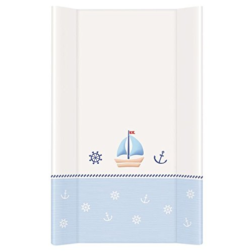 Baby Hard Base Changing MAT/TOP Changer 70x50cm FITS Cot 120x60cm - Nautical Baby Comfort