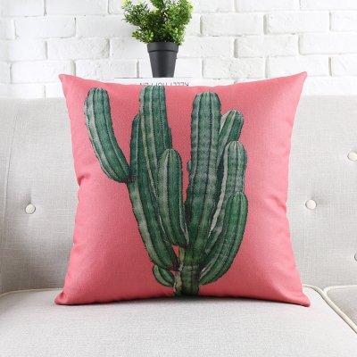 CIN.Dou cojín cojín sofá Office Coche cojín cojín Cactus ...
