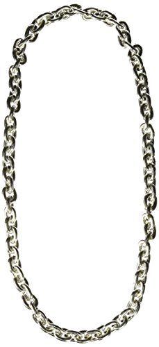 Chain Beads (silver) Party Accessory  (1 count) (1/Card)