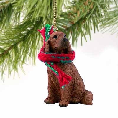Irish Setter Miniature Dog Ornament