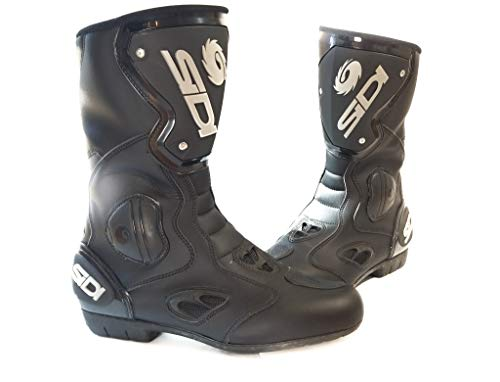 - Sidi Black 11.5 Strada EVO Air Boots - 032-13-8336