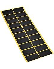 Anti-slip pads van EPDM/celrubber, verschillende maten, zwart, zelfklevend, topkwaliteit (2,5 mm)