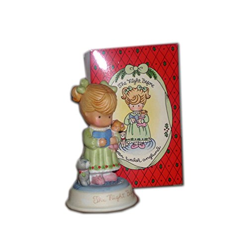 Avon Joan Walsh Anglund Collection - The Joy Of Christmas - Figurine Collection - The Night Before