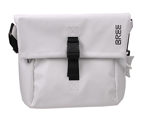 Bree Punch 99 14 Borsa messenger per laptop bianco