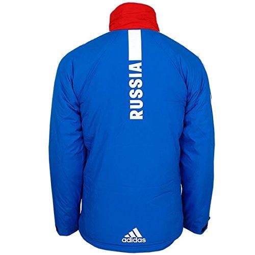 31b0b653ae68 adidas Damen Cross-Country Jacke Team Russia Olympia Russland Teamjacke  gefüttert warm wattiert  Amazon.de  Bekleidung