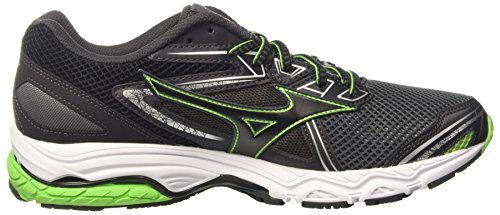 Hombre Black Zapatillas Running Multicolor Jasminegreen Wave Prodigy Mizuno para Darkshadow de axAPz7