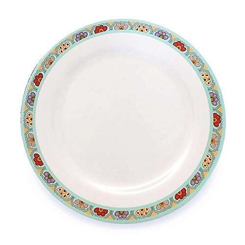 Bowla Melamine Dinner Plates Set - Set of 6,11