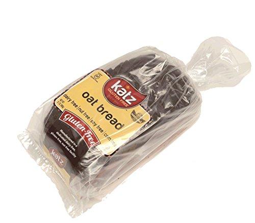 Katz Gluten Free Oat Bread, 21 Ounce, Certified Gluten Free - Kosher - Dairy, Soy, Corn & Nut free - (Pack of 1)