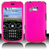 LG 900G for Stright Talk & Net 10 Accessory - Rubber Pink Hard Case Proctor Cover