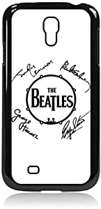 The Beatles Autographs- Hard Black Plastic Snap - On Case-Galaxy s4 i9500 - Great Quality!