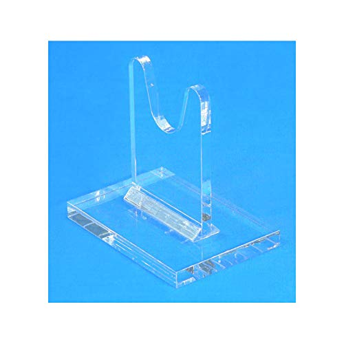 Easels by Amron Sword Stands for Antique and Vintage Swords for Displays and Shows. SOLD AS SINGLE UNITS for Mixing Sizes. (usually pick 2) Clear Acrylic. SWS-3 (3 (Dagger Short Sword)
