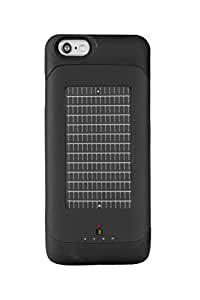 EnerPlex Surfr AMP Ultra Slim Battery Backup & Solar Powered Case for iPhone 6/iPhone 6S, Black, SRI6A3000BK
