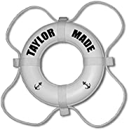 Taylor Made Products 600015 Boat Life Ring Letter Kit,Black